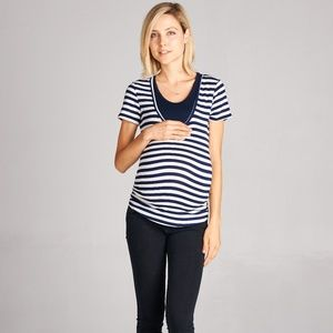 <CMT13221> Double Layered Maternity Nursing Top